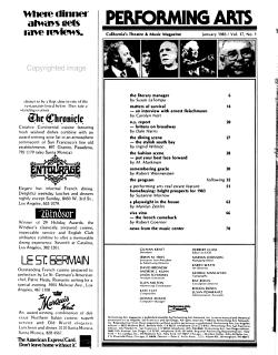 Performing Arts PDF