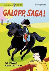 Saga och Max 3. Galopp, Saga! (utökad e-bok)