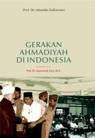 Gerakan Ahmadiyah di Indonesia PDF