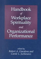 Handbook of Workplace Spirituality and Organizational Performance PDF