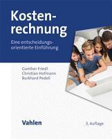 Kostenrechnung PDF