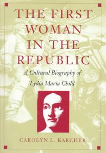 The First Woman in the Republic Book