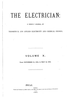 The Electrician PDF