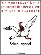 Die wunderbare Reise des kleinen Nils Holgersson mit den Wildgänsen: Illustrierte Ausgabe