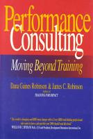 Performance Consulting PDF