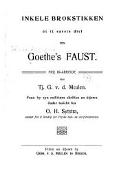 Preaukes uet Goethe's Faust