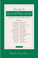 Stories from the Blue Moon Caf   III PDF
