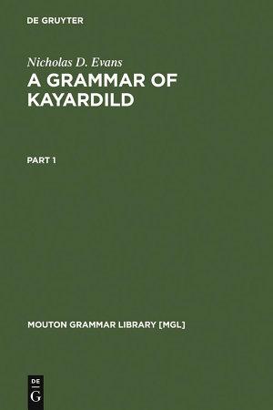 A Grammar of Kayardild