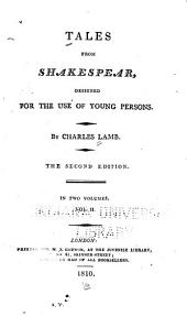 Tales from Shakespear: Designed for the Use of Young Persons, Volume 2