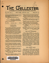 The Collector: A Monthly Magazine for Autograph and Historical Collectors, Volume 16, Issue 3