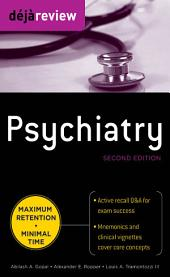 Deja Review Psychiatry, 2nd Edition: Edition 2