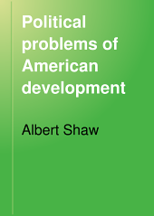 Political Problems of American Development