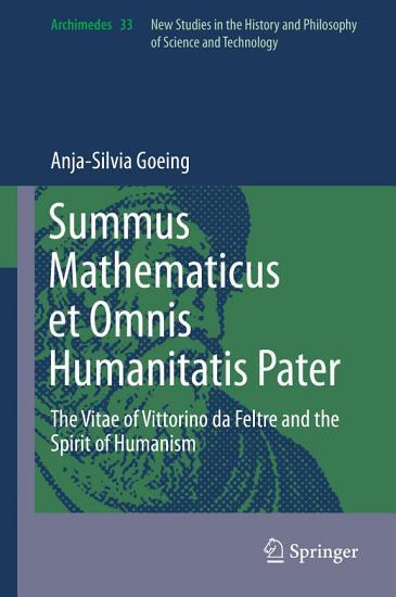 Summus Mathematicus et Omnis Humanitatis Pater PDF