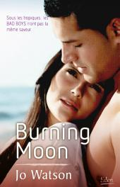 Burning moon