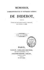 Mémoires, correspondance et ouvrages inédits: Volume4