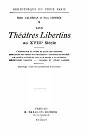 Les théatres libertins au XVIIIe siècle ...