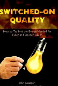 Switched On Quality Book