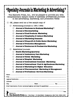 Journal of Marketing PDF