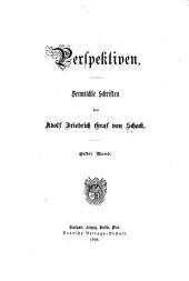 Perspektiven: vermischte Schriften, Bände 1-2