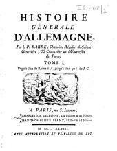 Histoire générale d'Allemagne: 648-1740