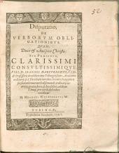 Disp. de verborum obligationibus