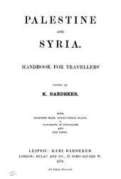Palestine and Syria, handbook for travellers