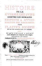 Histoire de la guerre des Iuifs contre les Romains