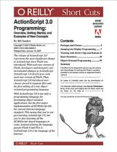 ActionScript 3.0 Programming: Overview, Getting Started, and Examples of New Concepts