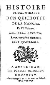 Histoire de l'admirable don Quichotte de La Manche: Volume3