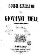 Poesie siciliane Giovanni Meli