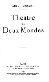 Théâtre des deux mondes