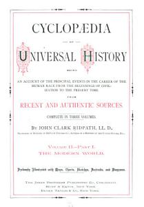 Cyclop  dia of Universal History  The modern world  2 pt PDF
