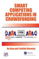 Smart Computing Applications in Crowdfunding PDF