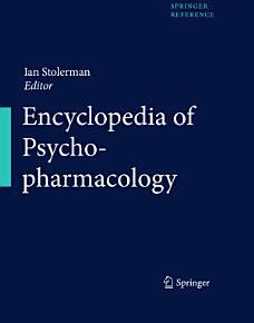 Encyclopedia of Psychopharmacology PDF