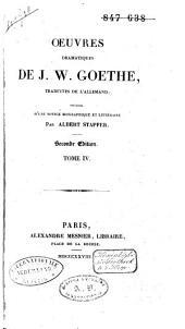 Oeuvres dramatiques: Volume4
