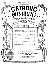 Catholic Missions: Volumes 9-10