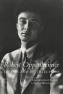 Robert Oppenheimer  Letters and Recollections PDF