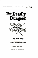 The Deadly Dungeon PDF