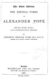 The Poetical Works of Alexander Pope
