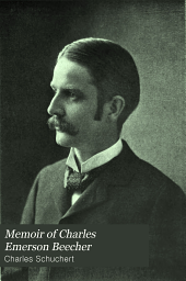 Memoir of Charles Emerson Beecher