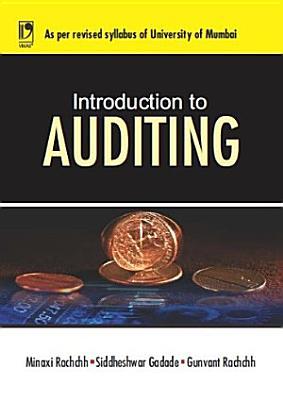 Introduction to Auditing  University of Mumbai