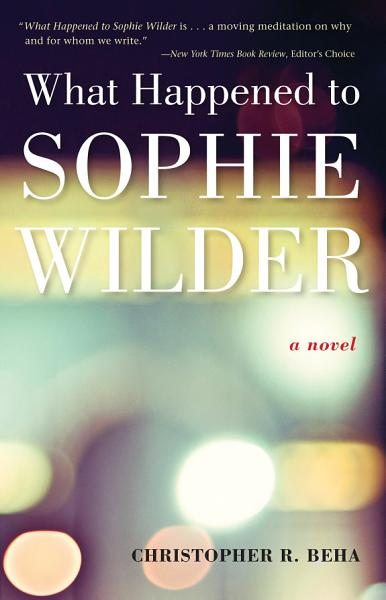 Download What Happened to Sophie Wilder Book