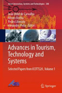 Advances in Tourism  Technology and Systems PDF