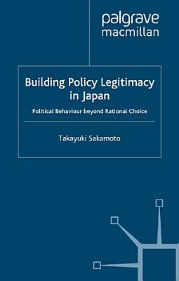 Building Policy Legitimacy in Japan PDF