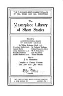 The Masterpiece Library of Short Stories  The war  Index PDF