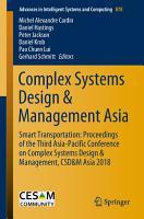 Complex Systems Design   Management Asia PDF