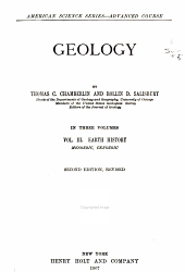 Geology: Earth history: Mesozoic, Cenozoic