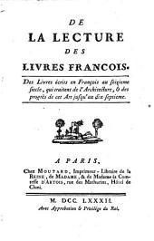 Mélanges tirés d'une grande bibliothèque: Volume16
