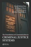 The Foundations of Communication in Criminal Justice Systems PDF