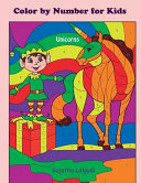 Color by Number for Kids ~ Unicorns